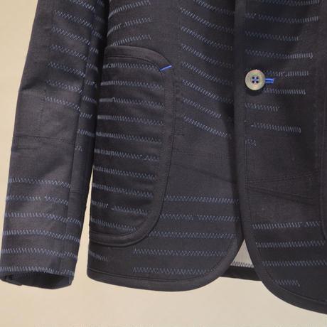 ウールエステルトロ刺繍加工ジャケット