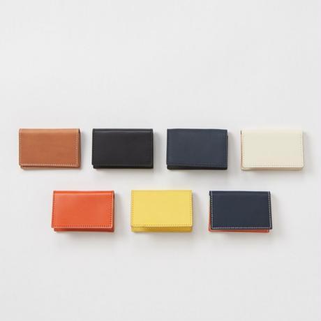 folded card case