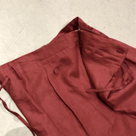 MAISON EUREKA     wrap pants