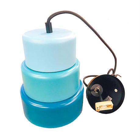 <中型(特)>Rings Pendant Light(turquoise)