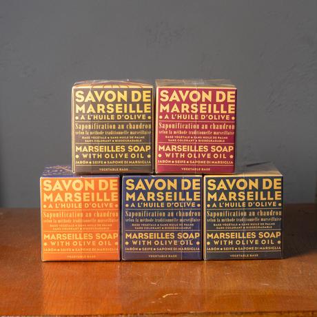 <小型>Marius Fabre Savon de Marseille Olive