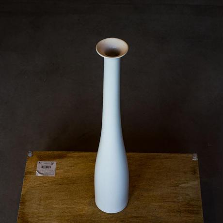 <小型>Vintage Flower Vase White -Vertical-