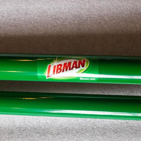 <中型>LIBMAN Broom & Dustpan Set