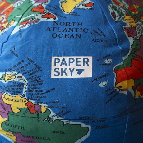 PAPER SKY Cushion Globe