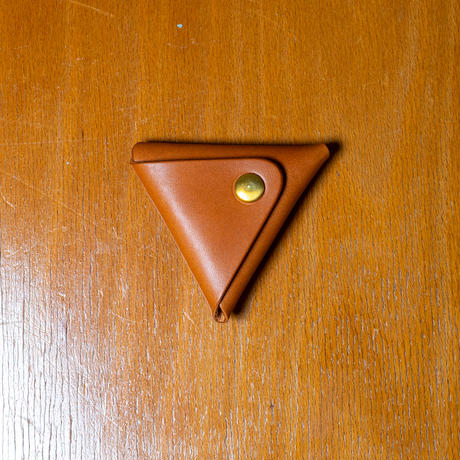 <小型>Duram Factory Triangle Coin Case