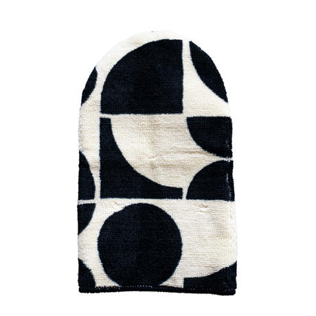 Deodorant Toilet Lid Cover -White & Black-