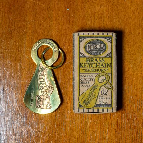 <小型>Dorado BRASS KEYCHAIN SHOEHORN