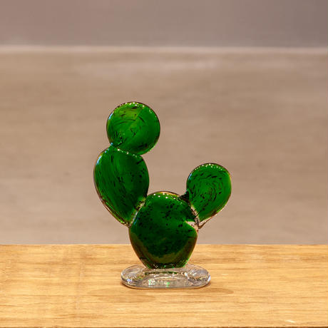 <小型>Amabro Cactus Glass Ornament L