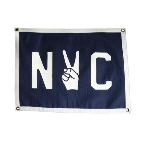 OXFORD PENNANT NYC Camp Flag