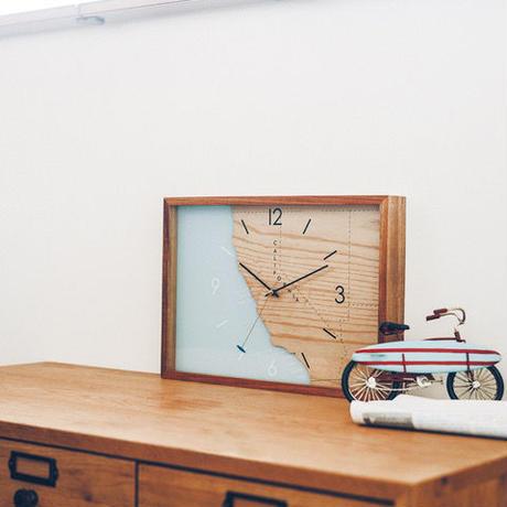 <中型(特)> Surf Spot Wall Clock