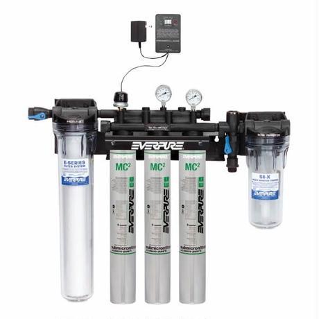 【お取り寄せ品】エバピュア ハイフロー浄軟水器システム 《トリプル》 / Everpure High Flow CSR System 《TRIPLE》