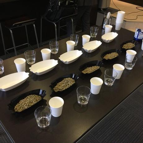 COFFEE SAMPLE TRAY(WHITE)/ サンプルパン(ホワイト)