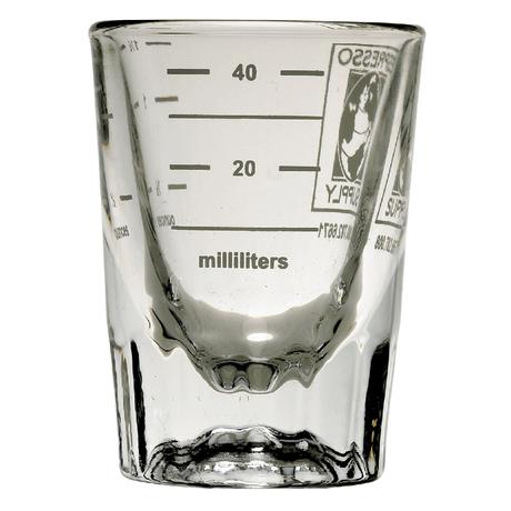HEAVY DUTY SHOT GLASS 2oz(with ml/oz Lines)