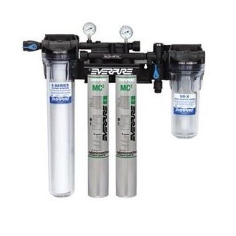【お取り寄せ品】エバピュア ハイフロー浄軟水器システム 《ツイン》 / Everpure High Flow CSR System 《TWIN》