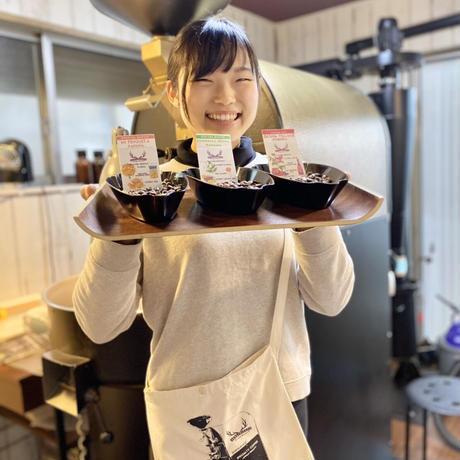 【2020-2021年末年始特別企画!  】ゲイシャ 50g × 3種類 テイスティングセット(*12月23日〜25日頃のお届け)サコッシュのプレゼント付き!