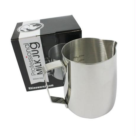 RHINOWARES MILK PITCHER 20oz(with ml/oz lines)