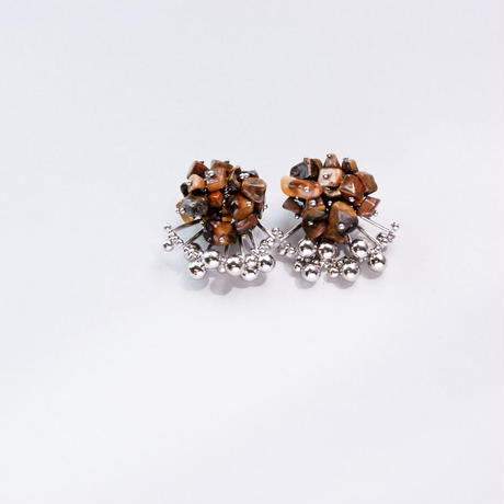<CIITA>Aria Earrings - TIGER'S EYE