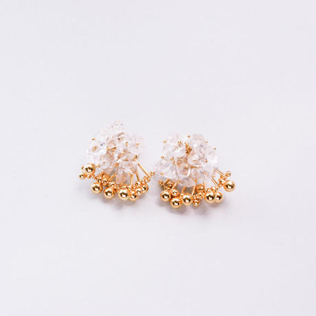 <CIITA>Aria Earrings - CRYSTAL