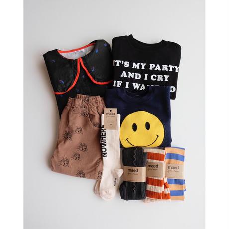 maed for mini Winkey Whale sweatshirt(2Y,3Y,4Y,5Y,6Y)