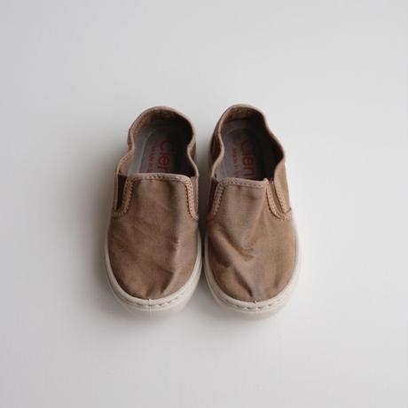 Cienta SLIP-ON SHOES ムラ染め(25(15cm)~32(20cm))