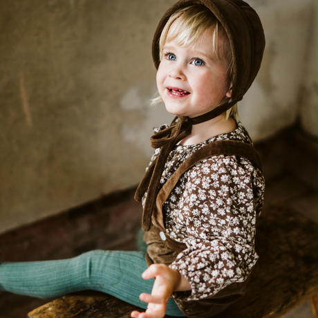 Little Cotton Clothes Olive blouse(6-12M,12-18M,18-24M,2-3Y,3-4Y,4-5Y,5-6Y)
