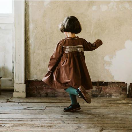 Little Cotton Clothes Ava Hand smocked vintage dress(2-3Y,3-4Y,4-5Y,5-6Y)