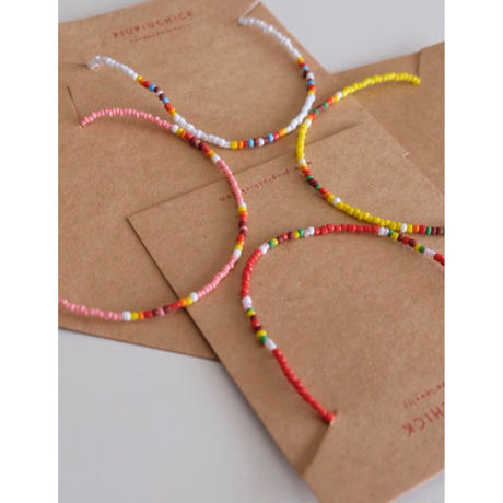 piupiuchick necklaces(全4色)