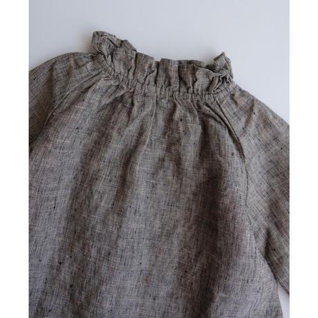 LA PETITE ALICE Linen Ruffle Tunic Layla(9-12m,12-18m,18-24m,2-3y)