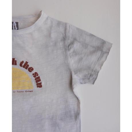 tocoto vintage ORGANIC FLAME KID T-SHIRT(2y,3y,4y,6y,8y)