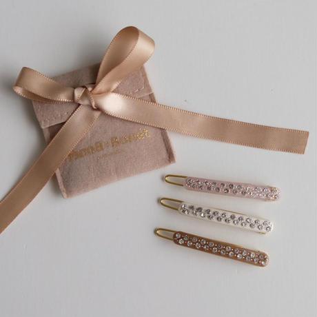 Bonét et Bonét Paloma hair clips(全3色)