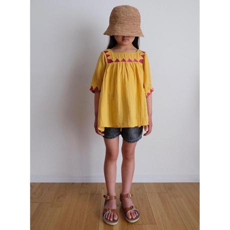 Coco Au Lait bambula embroidered tunic(2Y,4Y,6Y,8Y)