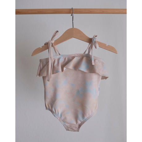 maed for mini Pastel pelican/Swimsuit(2Y,4Y,6Y)