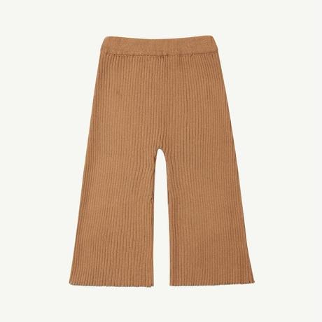 tan 7Y ラスト1点 SUMMER & STORM ribbed knit pant