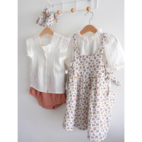 Little Cotton Clothes Roberta Pinafore(2-3Y,3-4Y,4-5Y,5-6Y,6-7Y,7-8Y,8-9Y)