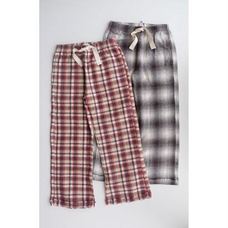 8 ラスト点 LONGLIVETHEQUEEN check pants