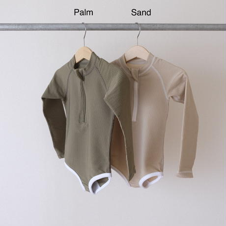 BEACH&BANDITS Ribbed suit(全2色/S,M,L,XL)
