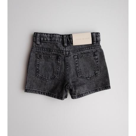 maed for mini Black bull/Denim shorts(2Y,4Y,6Y,8Y,10Y)