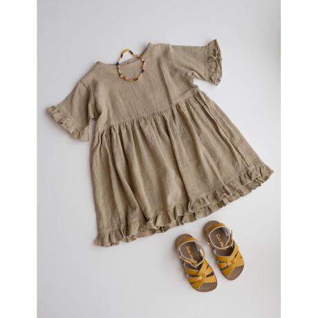 SUMMER & STORM COTTON FRILL DRESS(全2色/12-18M,2Y,3Y,4Y,5Y,6Y,7Y)
