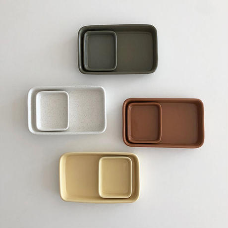 pola at home mom Tray Plate S (全5色)