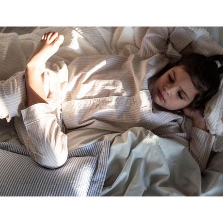 ON CLOUD NINE Addie Pyjamas  SAND STRIPES(2yrs,4yrs,6yrs,8yrs)