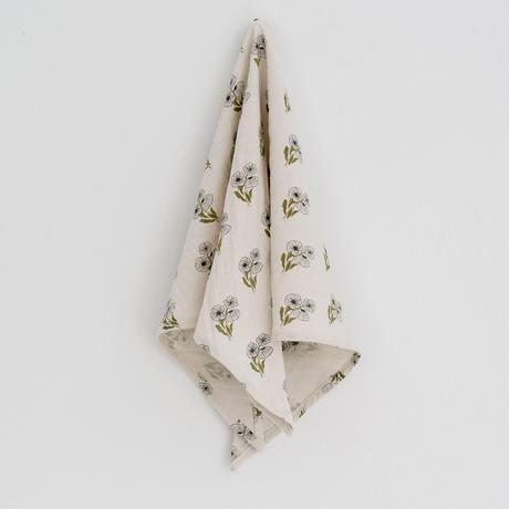 ラスト1点 Little Cotton Clothes Triangular scarf