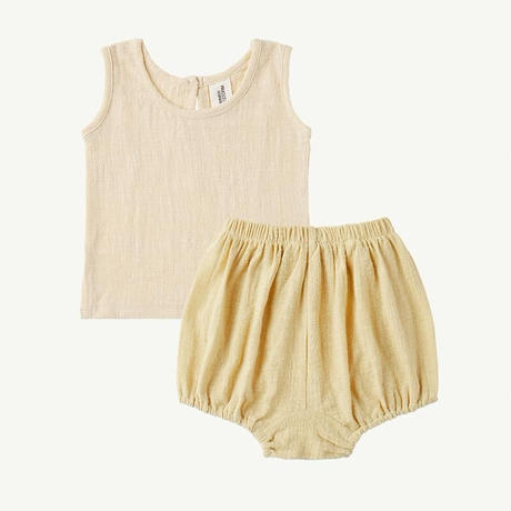 SUMMER & STORM SINGLET AND BLOOMER SET(全2色/6-12M,12-18M,2Y)