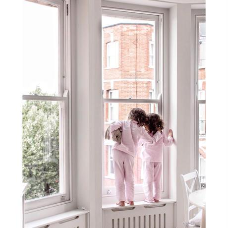 ON CLOUD NINE Addie Pyjamas PINK STRIPE(2yrs,4yrs,6yrs,8yrs)