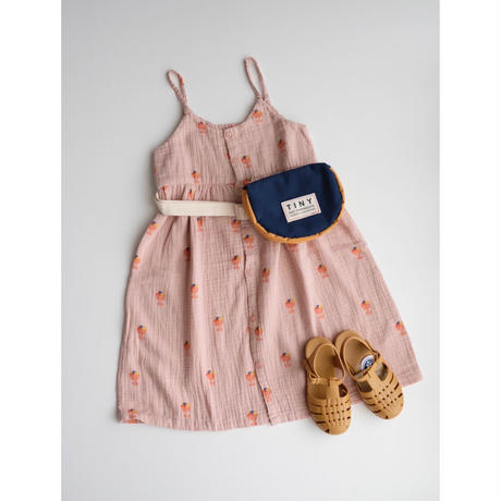 TINYCOTTONS ICE CREAM CUP DRESS(6y,8y)