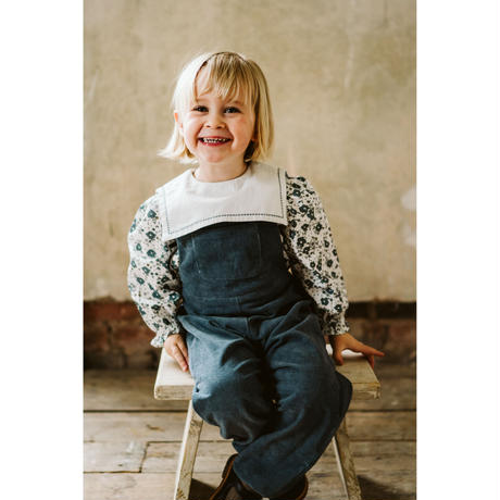 Little Cotton Clothes Falmouth dungarees(12-18M,18-24M,2-3Y,3-4Y)