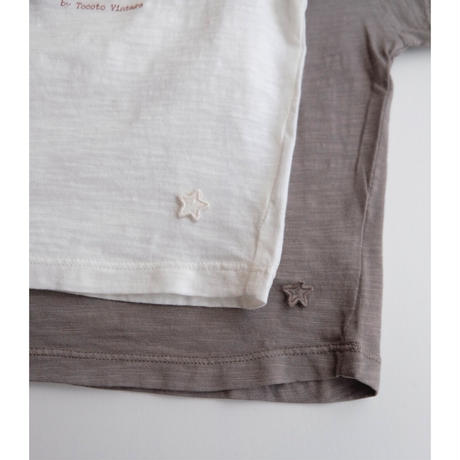 tocoto vintage ORGANIC FLAME BABY T-SHIRT(全2色/9m,12m,18m,2y)