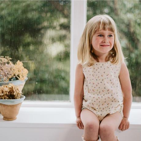 Little Cotton Clothes Katie Romper(6-12M,12-18M,18-24M,2-3Y)