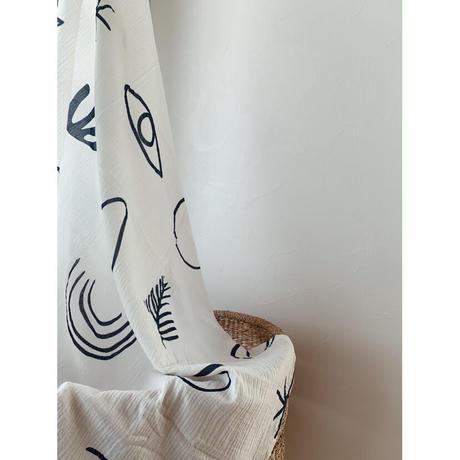TANINAKA Printed Wrap - Moonrise