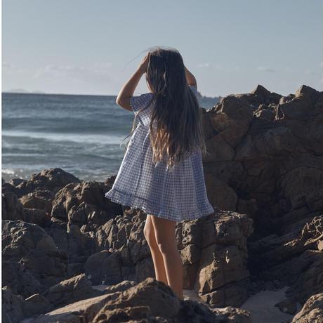 DAUGHTER Petal Dress(4-5,5-6,7-8)