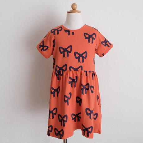 mini rodini Bow aop ss dress(80/86,92/98,104/110,116/122,128/134)